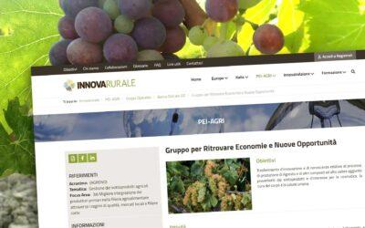 Il Gruppo Operativo Agreno sul portale Innovarurale.it