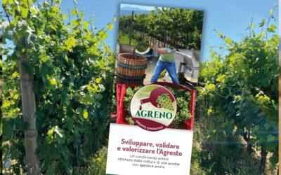 La brochure del G.O. Agreno. Tutte le informazioni sul progetto per la valorizzazione dell'agresto